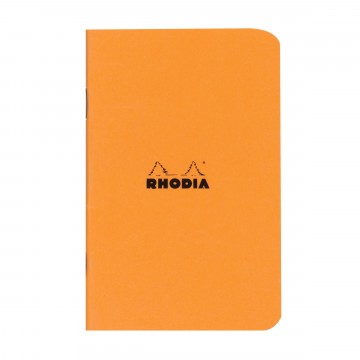 Cahier Pocket Memo book:  Rhodia Cahier is a lightweight and trustworthy stablebound notebook for your daily notes. Coated covers are water...