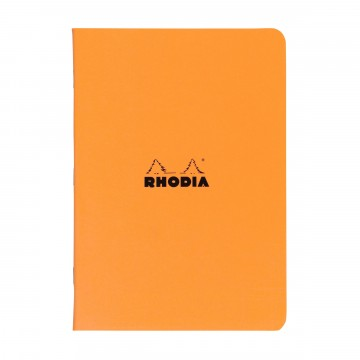 Cahier A5 Memo book:  Rhodia Cahier is a lightweight and trustworthy stablebound notebook for your daily notes. Coated covers are water...