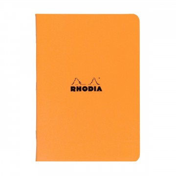 Cahier A4 Memo book:  Rhodia Cahier is a lightweight and trustworthy stablebound notebook for your daily notes. Coated covers are water...