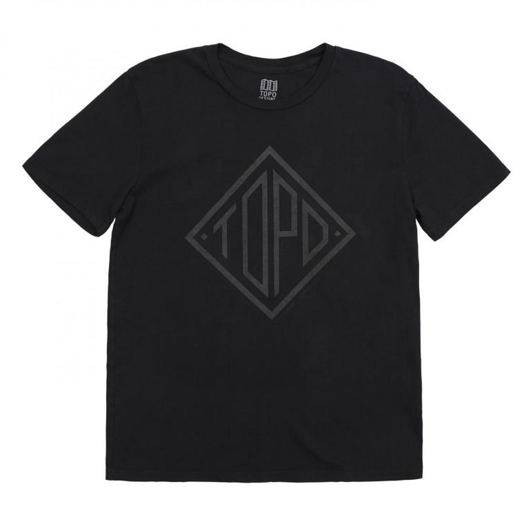 Topo Designs Diamond Tee - Black