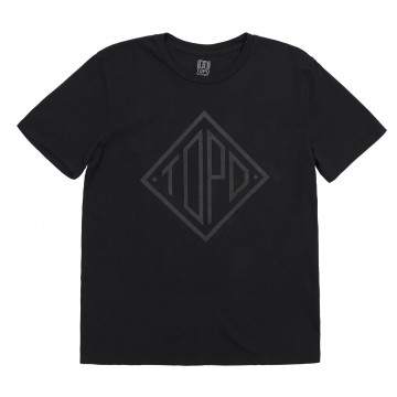 Diamond Tee - Black:  Topo Designs graphic t-shirts are illustrated by the in-house team, then printed on a 100% organic cotton shirt....