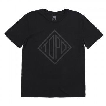 Diamond Tee - Musta:  Topo Designs t-paidat on kuvitettu oman tiimin toimesta, kuumapainettu 100% luomupuuvillasta tehtyyn paitaan, jossa...