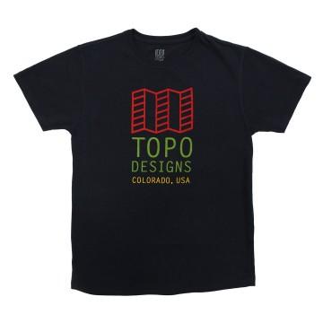 Original Logo Tee - Navy:  Topo Designs t-paidat on kuvitettu oman tiimin toimesta, kuumapainettu 100% luomupuuvillasta tehtyyn paitaan, jossa...