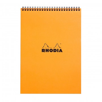 Notepad A4:  Rhodia Notepads hold 80 sheets of high quality 80 g Clairefontaine paper, which guarantees joyable writing...