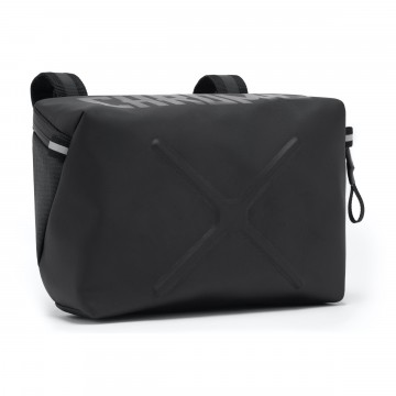 Helix Handlebar Bag:  The Helix Handlebar Bag is ready to kick it with you on or off the bike, while keeping all your essentials in check....