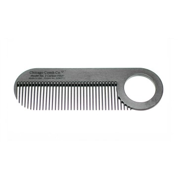 Model No. 2 Carbon Fiber Comb:  Model No. 2 is a truly iconic beard and mustache comb, which is built to last a lifetime. The patented design of...