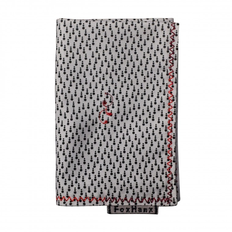 Fox Hanx Dot Handkerchief