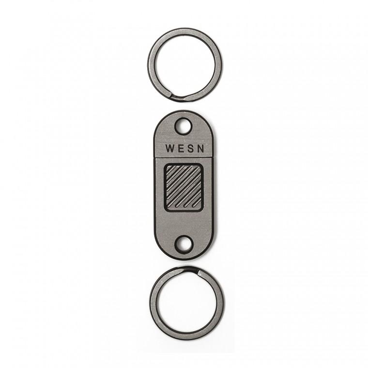 Wesn QR Keychain