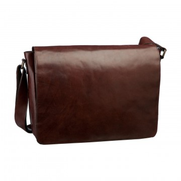 Cambridge L Messenger Bag:  Cambridge is a classy, hande made messenger bag made of full grain leather. You can easily slip a laptop into the...