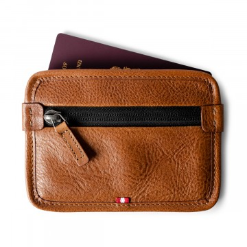 Been Around Passport Thing:   The Been Around Passport Thing is a passport or ID case with a zip compartment to hold your cash, cards, park...