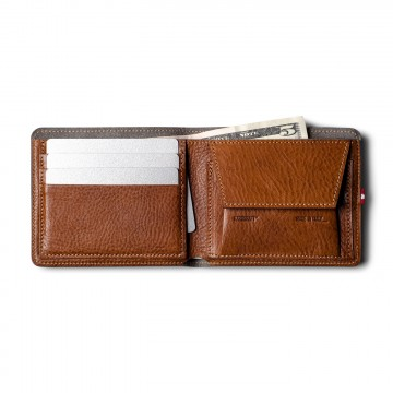 Cash Card Coin Wallet:   Manufactured from veg tanned leather, the Cash Card Wallet is made to survive your daily use. Open it for the first...