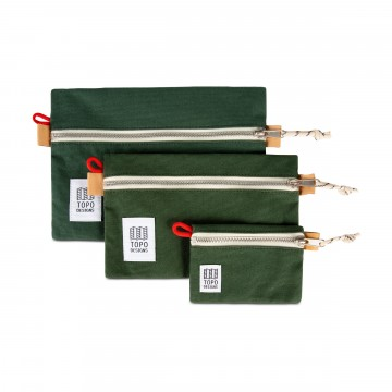 Accessory Bag Canvas -  The legendary utility pouches now in cotton canvas edition with water...