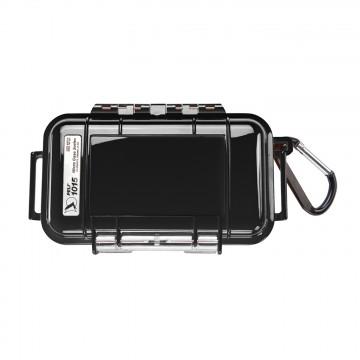 1015 Micro Case - Rasia:  Lujatekoinen, veden- ja pölynpitävä 1015 Micro Case suojaa pieniä elektroniikkalaitteita kuten kameraa tain...