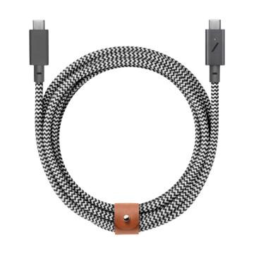 Belt Cable Pro USB-C USB-C:  Belt Cable -johto nyt päivitettynä tehokkaimmille C-tyypin laitteillesi. Sen 100W latausteho auttaa sinua hoitamaan...