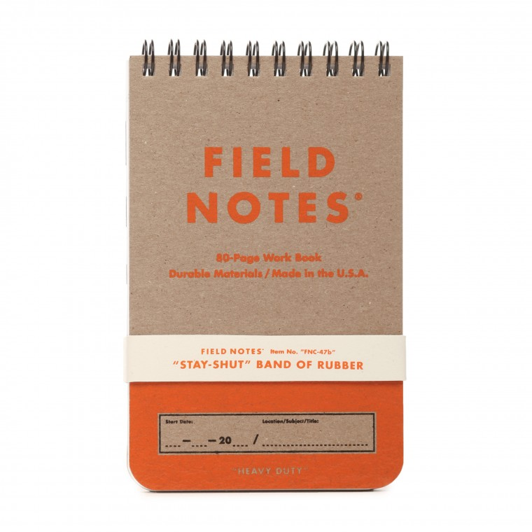 Field Notes Heavy Duty 2-Pack Work Book