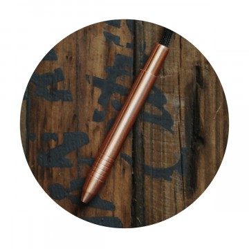 Copper Mini Pen:  The Copper Mini pen gets things done when it's time for business, but never gets in the whay when you don't need it....