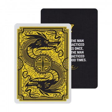Bruce Lee Playing Cards:   These official Bruce Lee playing cards have bee produced by Dan and Dave together with Bruce Lee Enterprises. The...