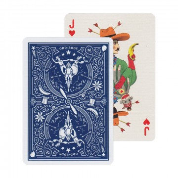Odd Bods - Pelikortit:  Jonathan Burtonin suunnittelema Odd Bods -korttipakka viitoittaa meidät irrallaan todellisuudesta olevalle matkalle....