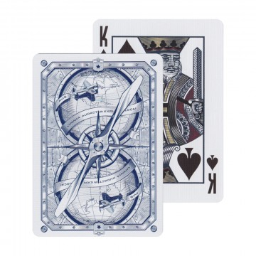 Aviator Heritage Playing Cards:  Aviator® playing cards have been reimagined to honor Howard Hughes and his pioneering advancements in aerospace...