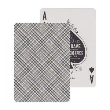 Vintage Plaid Playing Cards:  The Vintage Plaid playing cards have become a standard in every card man's collection, and has been highly sought...