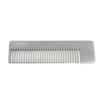 Model No. 4 Comb:  Small Model No. 4 comb is laser-cut out of high-grade stainless steel and hand finished & rounded for...