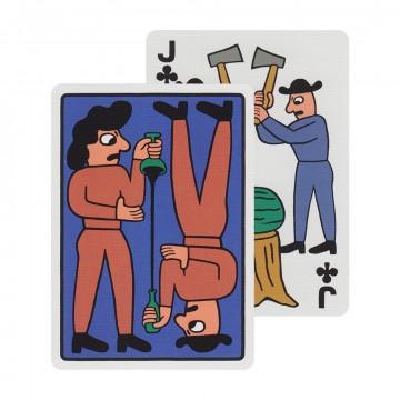 Henry & Sally - Pelikortit:  Tämä korttipakka on tehty yhdessä maailmankuulun tanskalaisen Mikkeller-pienpanimon kanssa. Humalaa nuuhkivat...