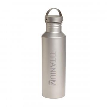 Titanium Bottle + Ti Lid - Vesipullo:  Vargo Titanium -vesipullo on valmistettu 100% titaanista korkkia myöten ja siitä on turvallista juoda. Keveytensä ja...