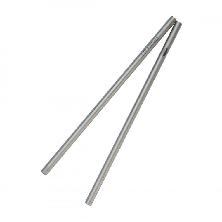 Vargo Titanium Straw 2-Pack - Juomapilli