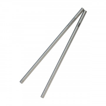 Titanium Straw 2-Pack:  Single-use plastic straws are not easily recyclable and have proven to be very harmful to the oceans. The Vargo...