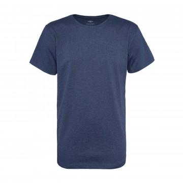 T-paita - Navy Melange:  Pure Waste t-paita on valmistettu täysin kierrätetyistä materiaaleista, jotka ovat yhtä laadukkaita ja mukavan...