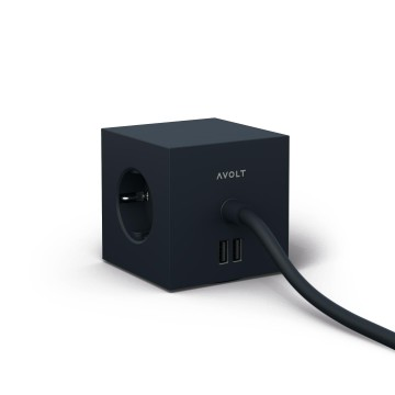 Square 1 Extension Cord:  The Square 1 is an extension cord that's thoughtfully designed for both function and form. The cube shape has three...