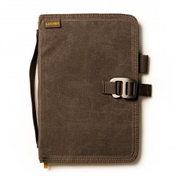 Field Journal:  The Field Journal is the perfect case for your notebooks, pens and other small items. It's made from waxed canvas...