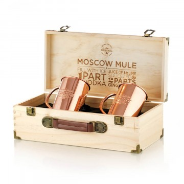The Original Mug Polished 2-Pack:   This is The Original, 100% pure copper Moscow Mule mug that grandma Sophie created nearly 100 years ago. No lacquer...