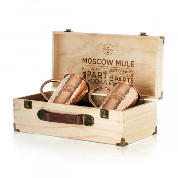 The Original Mug Hammered 2-Pack:  This is The Original, 100% pure copper Moscow Mule mug that grandma Sophie created nearly 100 years ago. No lacquer...
