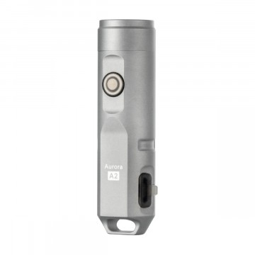 Aurora A2x Flashlight:  The Aurora A2x EDC keychain flashlight is crafted by precision CNC from stainless steel. It is equipped with High...