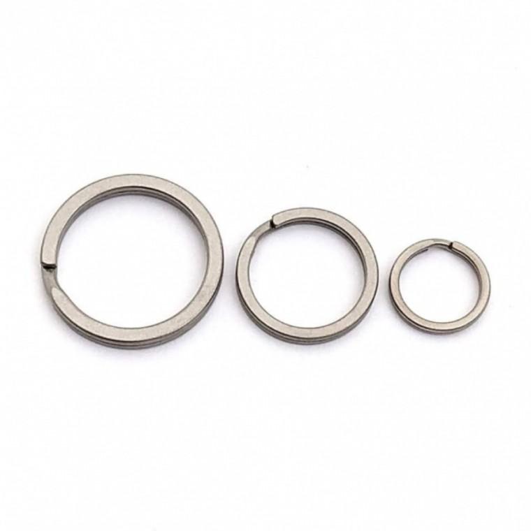 Flytanium Titanium Split Rings 3-Pack