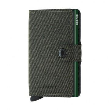 Miniwallet Twist - Lompakko:  Secrid Twist -lompakon billfold näyttää ja tuntuu tekstiililtä, mutta hyödyntää nahan lujatekoisuutta. Twist on...