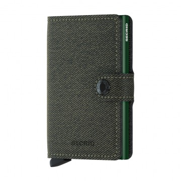 Miniwallet Twist:  The billfold in the Secrid Twist wallet has the look and feel of fabric, combined with the durability of leather. It...