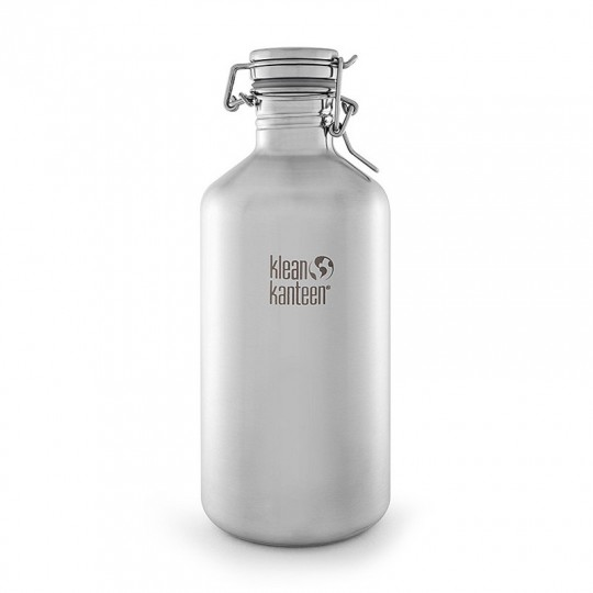 Growler 1,9 L Drinking Bottle:  To all you beer lovers - there is finally a nice and secure way to transport your favourite beverage to the park or...