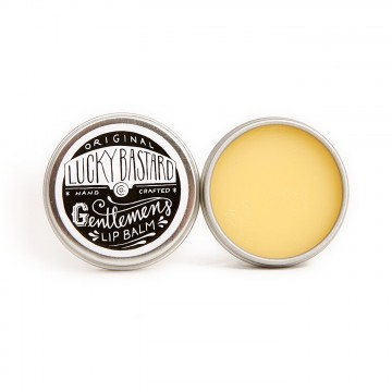 Original Lip Balm:  The Lucky Bastard gentlemen's lip balm in it's original form - a circle tin that fits perfectily in your fifth...