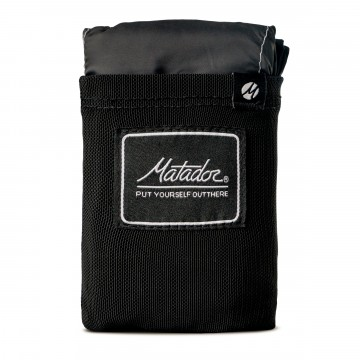 Pocket Blanket™:  Matador's first creation and bestseller now completely overhauled with new waterproof materials, ergonomic black...