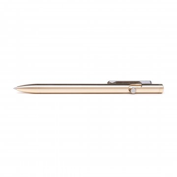 Slim Bolt Action Bronze Pen:   One of the most common request Tactile Turn has gotten over the years is to make some slimmer pens. So here they...