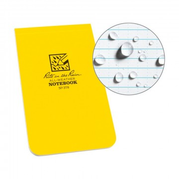 Soft Cover Top Bound Notebook:   Originally developed for the US military, the Rite in the Rain Soft Cover Books are made to survive. Only the most...