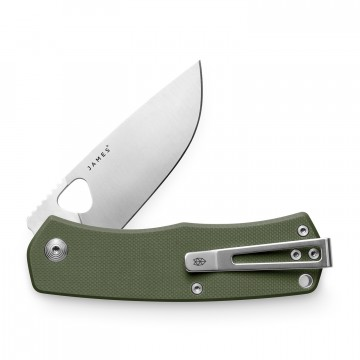 Folsom Knife:  Featuring G10 scales, a steel liner-lock and the a new deep carry clip, the Folsom is ready to be put through the...
