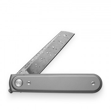 Duval Damasteel Knife:   The Modern Gentlemen's Knife with damasteel blade    The Duval combines the best features of two classic knife...