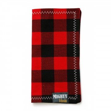 Mighty Mini Buffalo Plaid:  The frontside of this Mighty Mini features a handsome buffalo plaid pattern. Dark blue microfiber on the back,...
