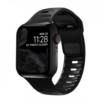 Sport Strap:  Nomad Sport Strap is designed to give your Apple Watch a modern and sleek athletic look for intense workouts and...
