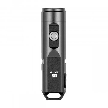 Aurora A3x Flashlight:  The Aurora 3x features sturdy aluminum body and it's just the right size to fit in a keyring and comfortable...
