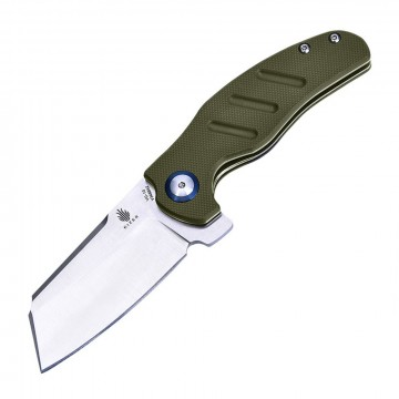 Mini Sheepdog Knife:  The Kizer Mini Sheepdog is a smaller and lighter version of the original size. Its sheepfoot style blade is made...