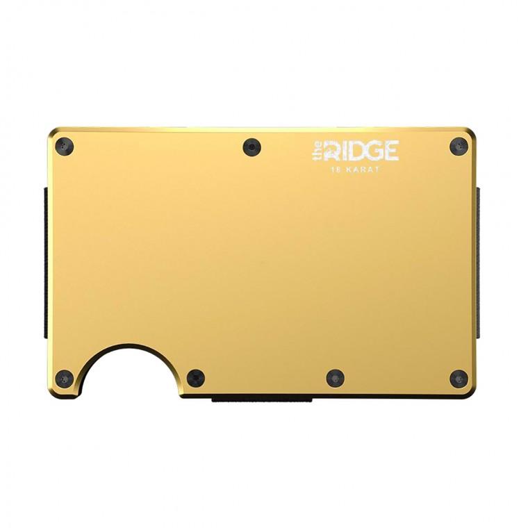 Ridge 18 Karat Gold Plated Wallet